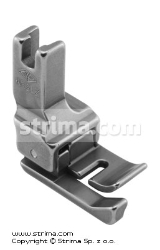 Compensating foot for zigzag max 6mm, left