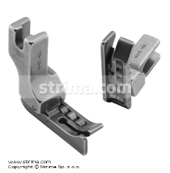 Roller foot with left guide 0.8mm