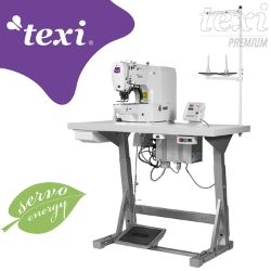 Electronic bartacking machine - complete sewing machine