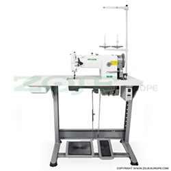 Lockstitch machine for upholstery and leather - complete machine