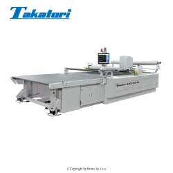 Automatic cutting machine, working space 200 x 170 cm