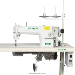 Lockstitch machine for heavy materials with large hook - complete machine