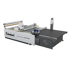 Automatic cutting machine, working space width 170 cm