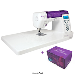 Computerized sewing machine, 200 stitch programs + a set of threads Texi Box 15 - TEXI BALLERINA SET