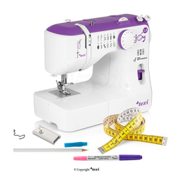 Multifunctional mechanical sewing machine, 13 stitches