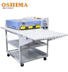 OSHIMA continuous fusing machine + stand