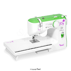 multifunctional household sewing machine with a extension table.