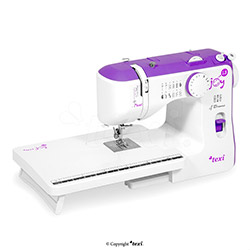 Multifunctional household sewing machine with a extension table