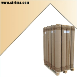 Interleaving paper for the separation of slipping fabrics, 152 cm width, roll length around 600 m