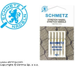 SCHMETZ stretch jehly 130/705H-S, 5pcs. 5x75 - 130/705 H-S VMS