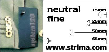 120 PPF NEUTRAL 025 - Splinty 25 mm fine, neutral, box 12.000 pcs