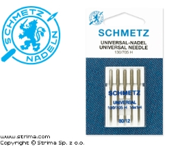 SCHMETZ universal needles 130/705H, 5pcs. 5x80