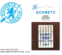 SCHMETZ leather needles 130/705H LL, 5pcs. 5x100
