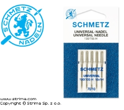 SCHMETZ universal needles 130/705H, 5pcs. 5x70
