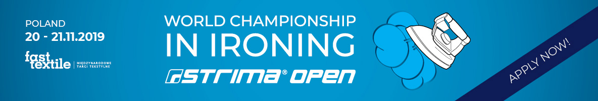 Open World Championship in Ironing - Strima Open 2019